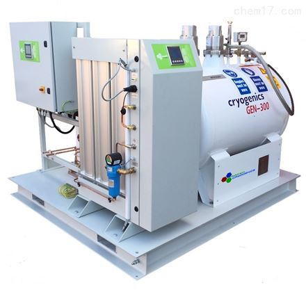 260升每天撬装式全自动液氮机组
