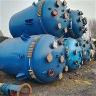 九成新5吨6.3吨10吨搪瓷反应釜二手价