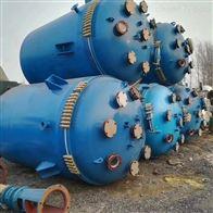 3吨供应二手6300L蒸汽加热搪瓷反应釜