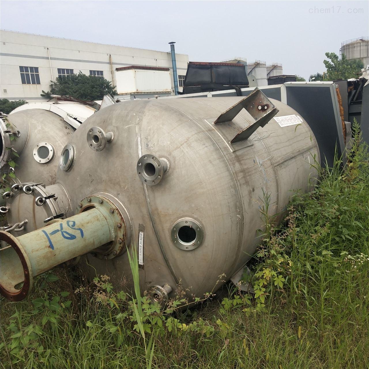 厂家加工全新不锈钢反应釜 来图定做