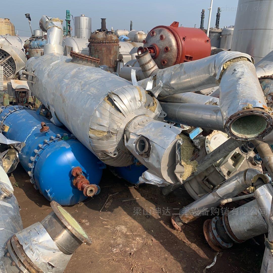高价回收二手蒸发器 MVR