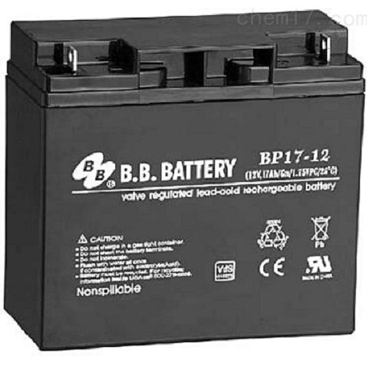 台湾BB蓄电池BP17-12品牌报价