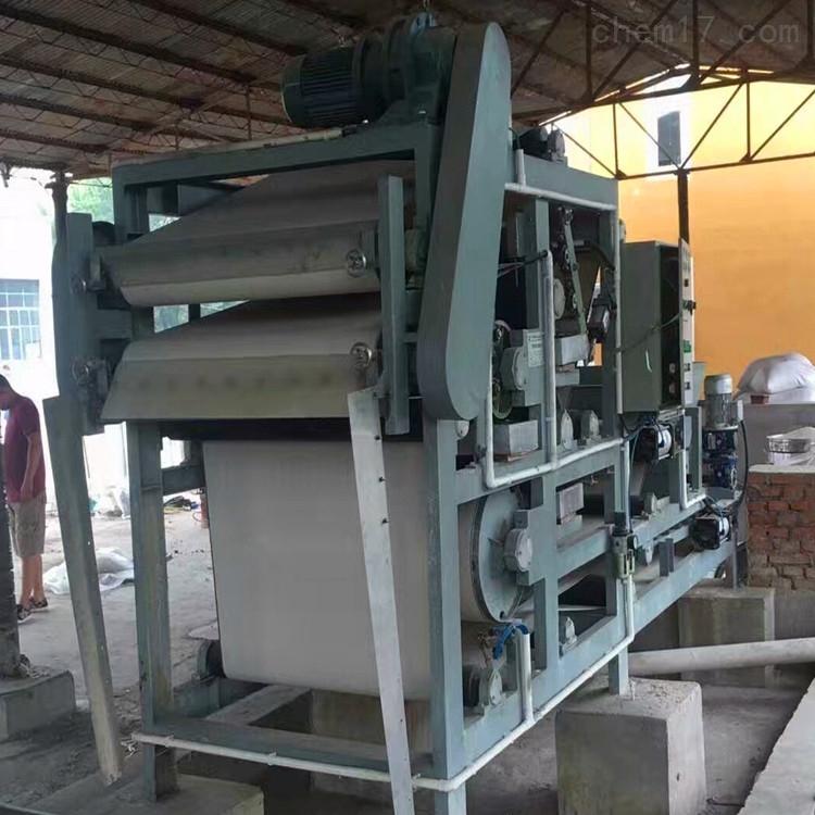 处理二手污水造纸带式压滤机
