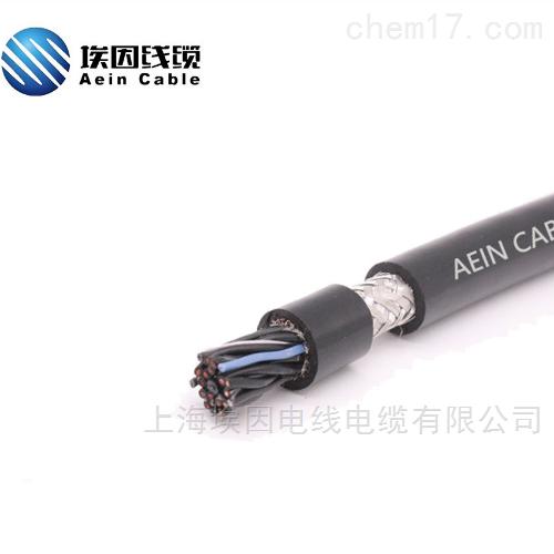 耐磨性高度单护套双绞带屏蔽拖链电缆