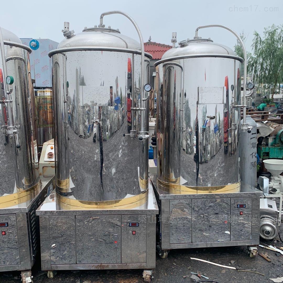 出售二手200升-1000升精酿啤酒设备
