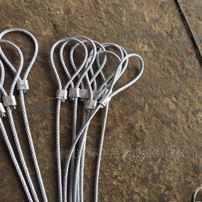 镀锌光面压制钢丝绳