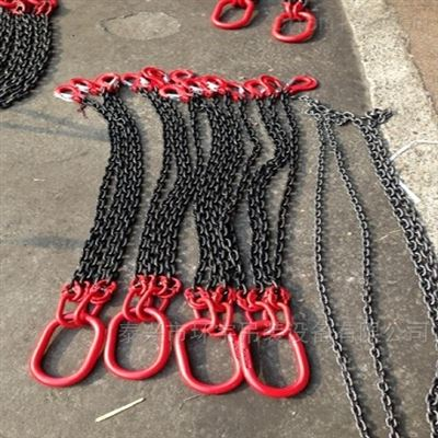 按需求链条成套索具起重链条吊具加工