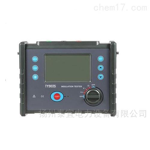 泰宜高压数字防雷检测用绝缘电阻测试仪