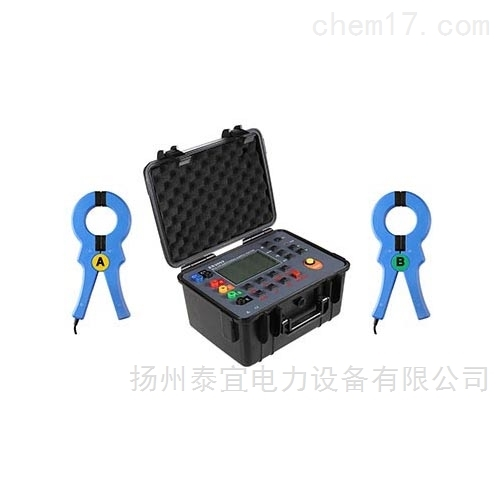 双钳口接地电阻测试仪