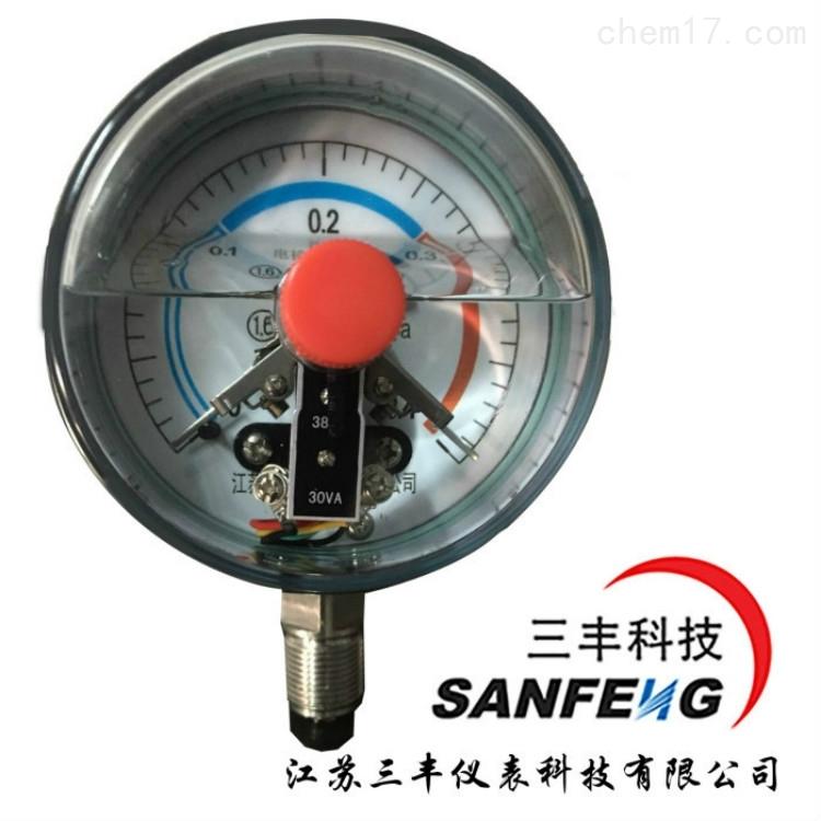 抗振磁敏电接点压力表