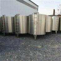 出售二手30吨立式食品级不锈钢储罐