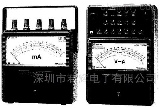 横河便携式直流电流电压表 2011