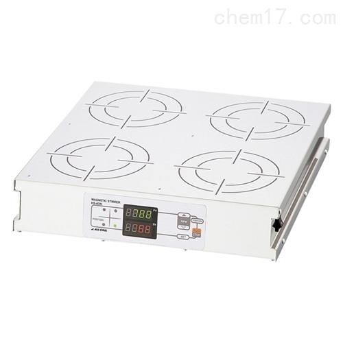 日本ASONE亚速旺磁力搅拌器SUS顶板HS-4DN