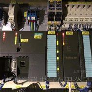 西门子S7-300PLC上电所有灯全部都亮维修