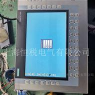 西门子触摸屏开机进不去系统主界面修理解决