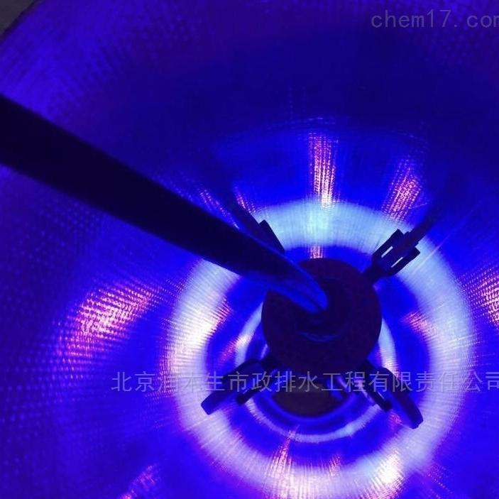 新疆紫外光固化管道修复流程 排水管清淤