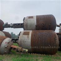 二手15立方 20立方外盘管不锈钢反应釜