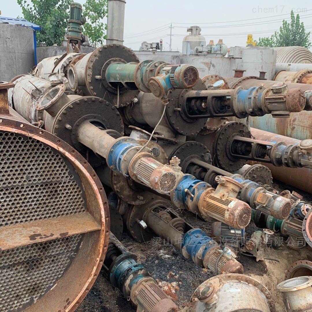 公司闲置各种型号二手薄膜蒸发器