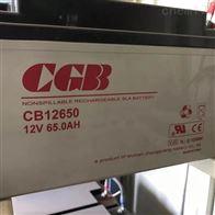 12V65AHCGB长光蓄电池CB12650厂家