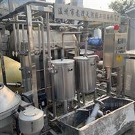 回收饮料厂 乳品厂二手巴氏杀菌机 板式杀菌
