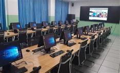 导游实训科技互动室