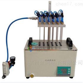 大连方形氮吹仪JT-DCY-24SL水浴氮气吹扫仪