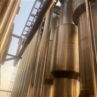 9成新二手三效蒸发器低价转让性能可靠.