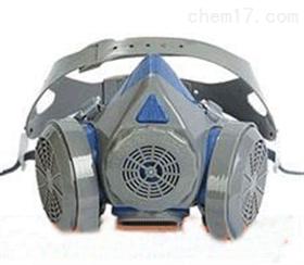 硅胶双罐防尘面罩 防过敏防尘面罩 高效率阻尘面罩