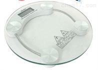 电子钢化玻璃体重秤 电子钢化玻璃体重分析仪 超精密电子体重秤