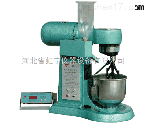 水泥胶砂机 JJ-5型水泥胶砂搅拌机