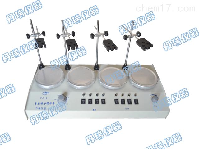 HJ-4多頭恒溫磁力攪拌器