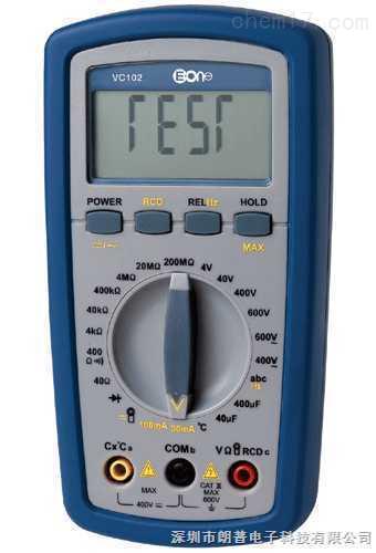 伊万│VC102智慧型自复式完全自动保护电力检测万用表