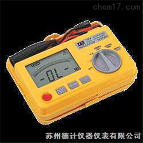 TES-1604RS-232 记录式数位绝缘测试器