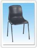 钢脚靠背椅