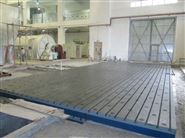 厂家加工定制2乘4铸铁试验平台学校装配平台