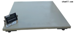 带RS232接口电子地磅 5吨打印地磅秤