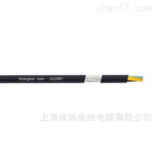 美标电缆UL2587热塑性护套多芯电机电源线