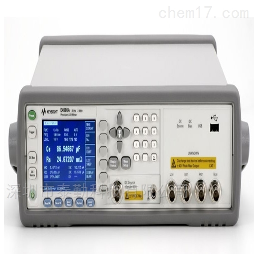 Keysight是德E4980A精密型LCR表