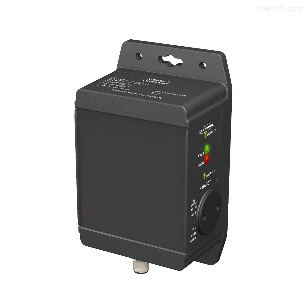 邦纳banner雷达传感器