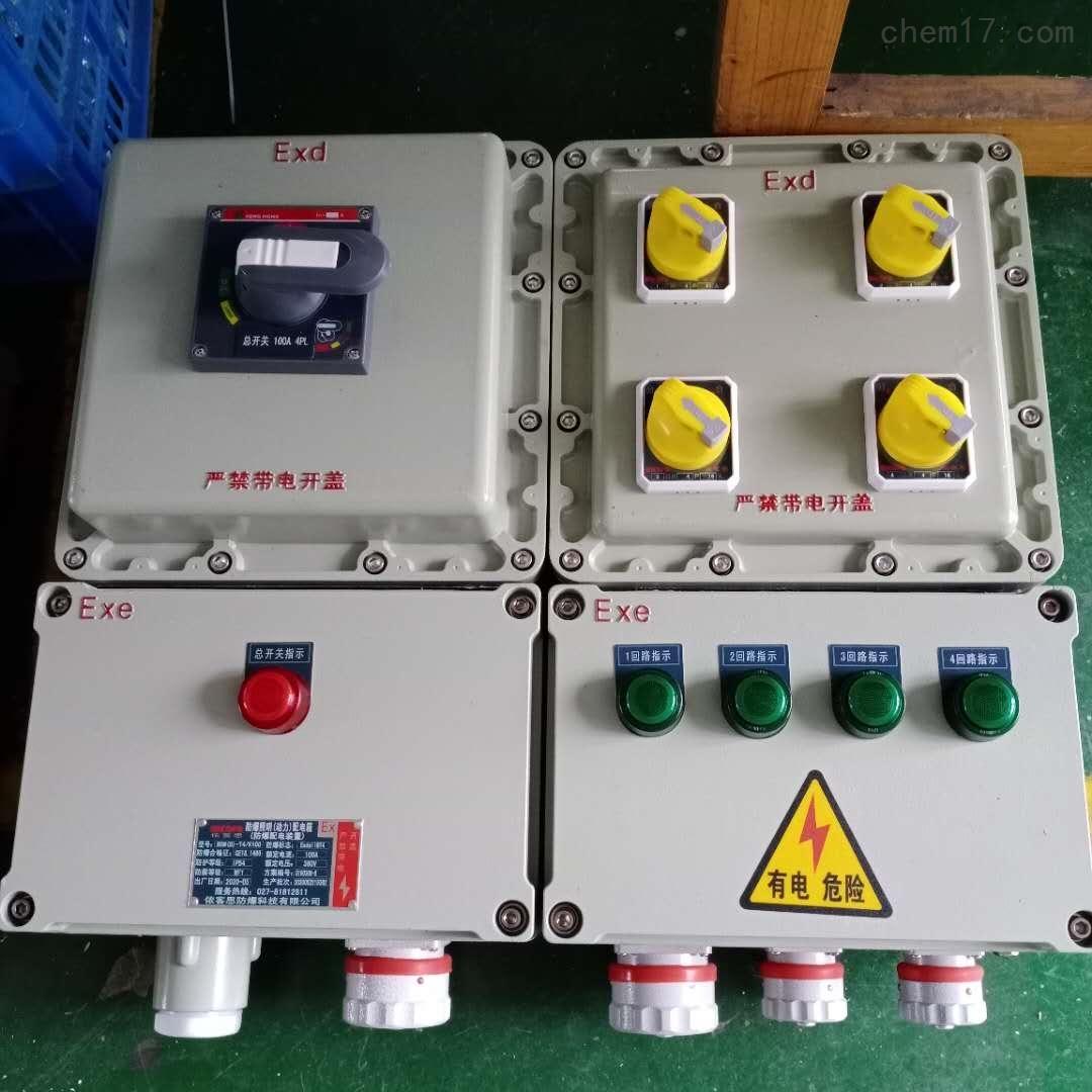 BXX51-11/25K225防爆动力检修箱 防爆检修箱按图纸生产加工