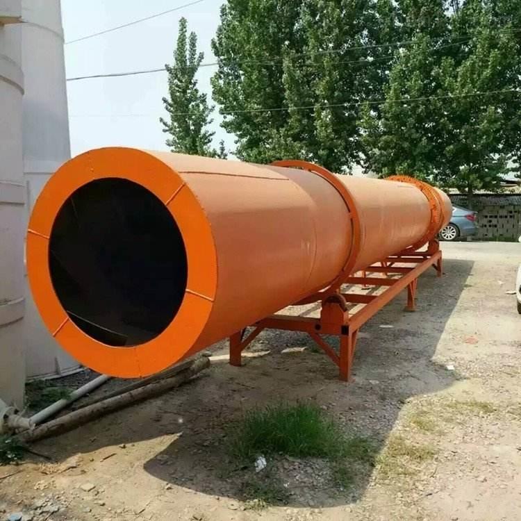 二手河沙滚筒烘干机设备全国回收