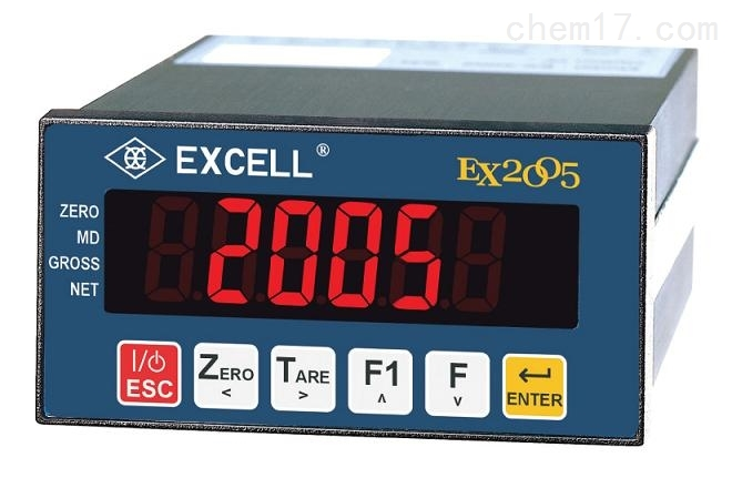 EXCELL英展EX2005称重控制仪表MODBUS