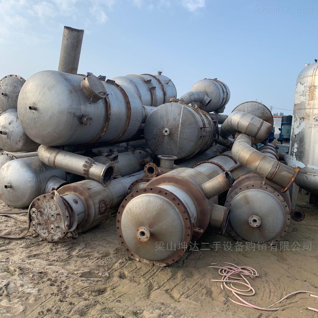 二手化工厂多效浓缩蒸发器