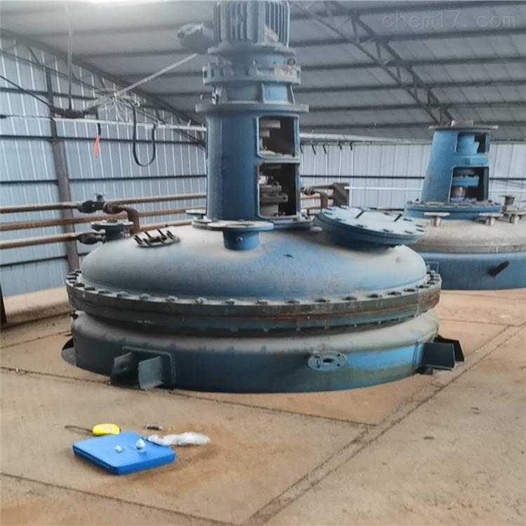 回收二手高压不锈钢反应釜