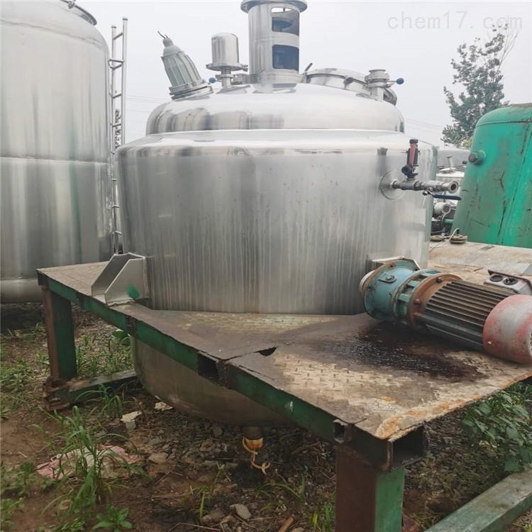 常年回收二手不锈钢电加热反应釜 搅拌罐