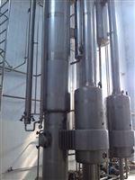 厂家转让二手三效浓缩蒸发器