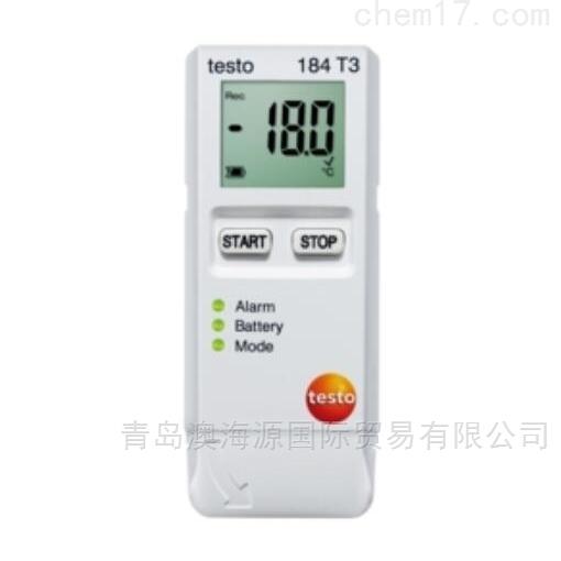 testo 184T3运输温度记录仪日本进口
