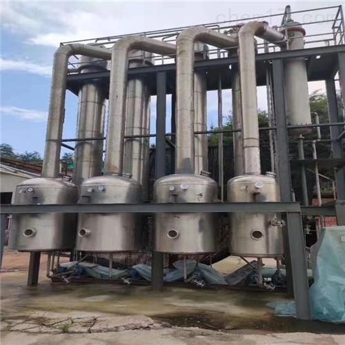 二手三效降膜蒸发器回收出售