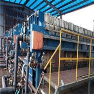 DY1000供应二手厢式压滤机滤饼洗涤均匀含水率低