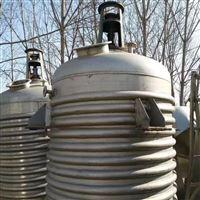 厂家回收二手内外盘管不锈钢反应釜